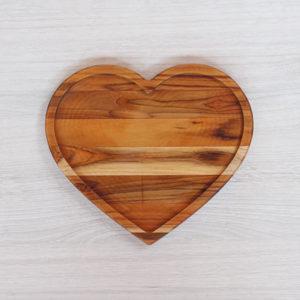 Petisqueira Coração Vazado Grande